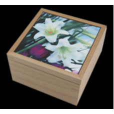 Natural Maple Square Keepsake
